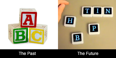The Past and the Future of building blocks